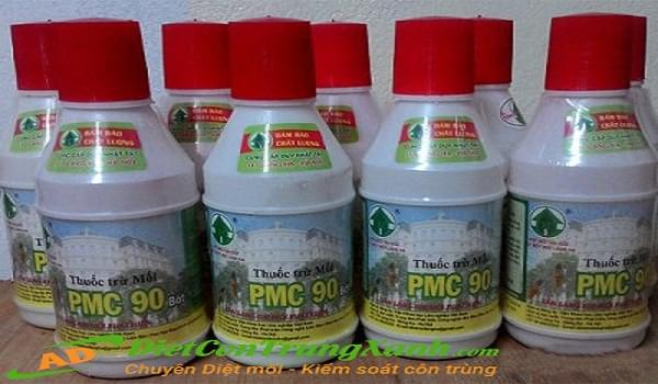Quy trình sử dụng thuốc diệt mối PMC90 đạt hiệu quả cao