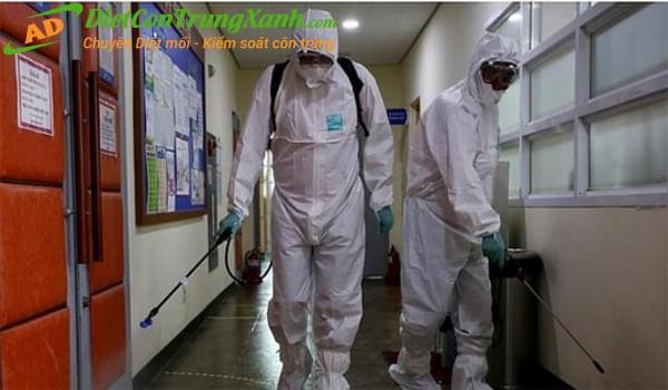 Quy trình và phương pháp dịch vụ khử trùng khử khuẩn