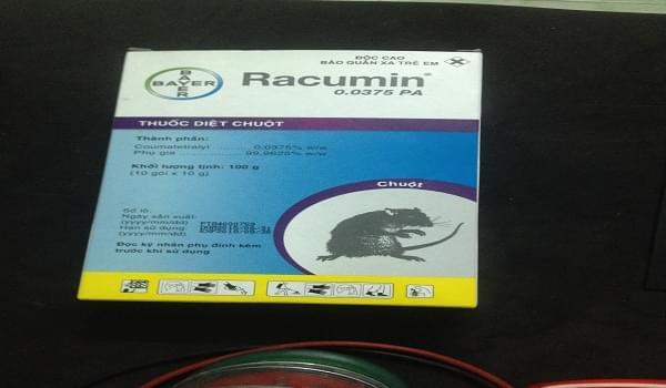 Thuốc diệt chuột Racumin Paste có tốt hay không