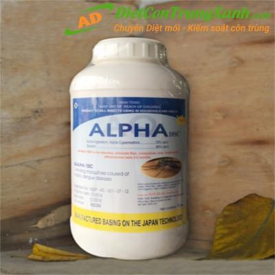 Hóa chất diệt côn trùng-Thuốc diệt muỗi Alpha 10 SC