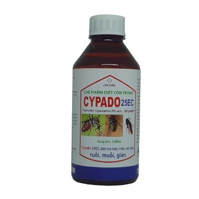 Cypado 25EC Thuốc diệt muỗi và diệt côn trùng gây hại
