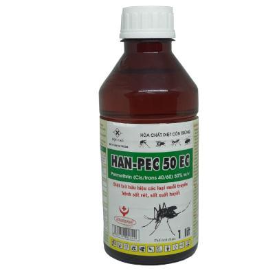Chế phẩm diệt muỗi và côn trùng Han-pec 50 EC