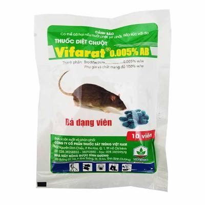 Thuốc diệt chuột chống đông máu vifarat