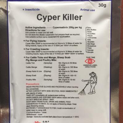 Thuốc trị các loại côn trùng gây hại trong chăn nuôi Cyper Killer