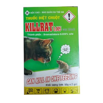 Thuốc diệt chuột Killrat (Combo 4 hộp)