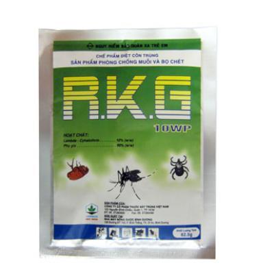 Sản phẩm phòng trừ muỗi, bọ chét, kiến và gián RKG 10WP