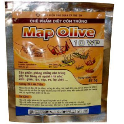 Hóa chất diệt côn trùng Map olive 10 WP